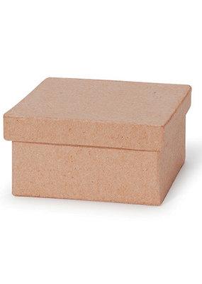 Darice Paper Mache Box Small 3 X 3