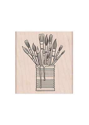 Hero Arts Stamp Tin of Brushes