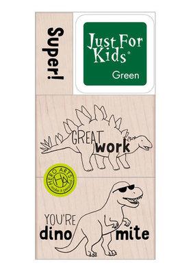 Hero Arts Stamp Kit Super Dino