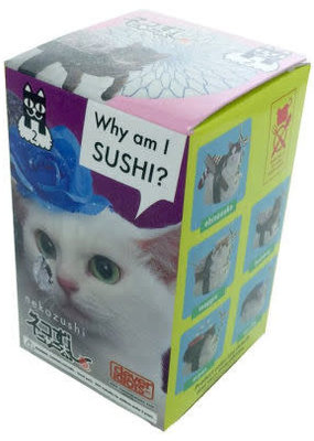 Clever Idiots Blind Box Sushi Cat 2