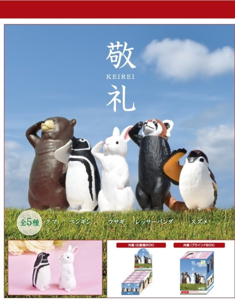 Blind Box Saluting Animals