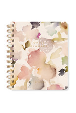 Fringe Undated Daily Planner Watercolor Floral