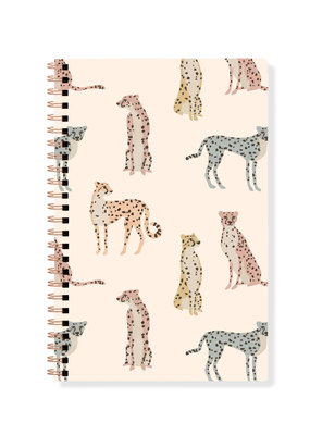 Fringe Journal Spiral Bound Cheetahs Lined
