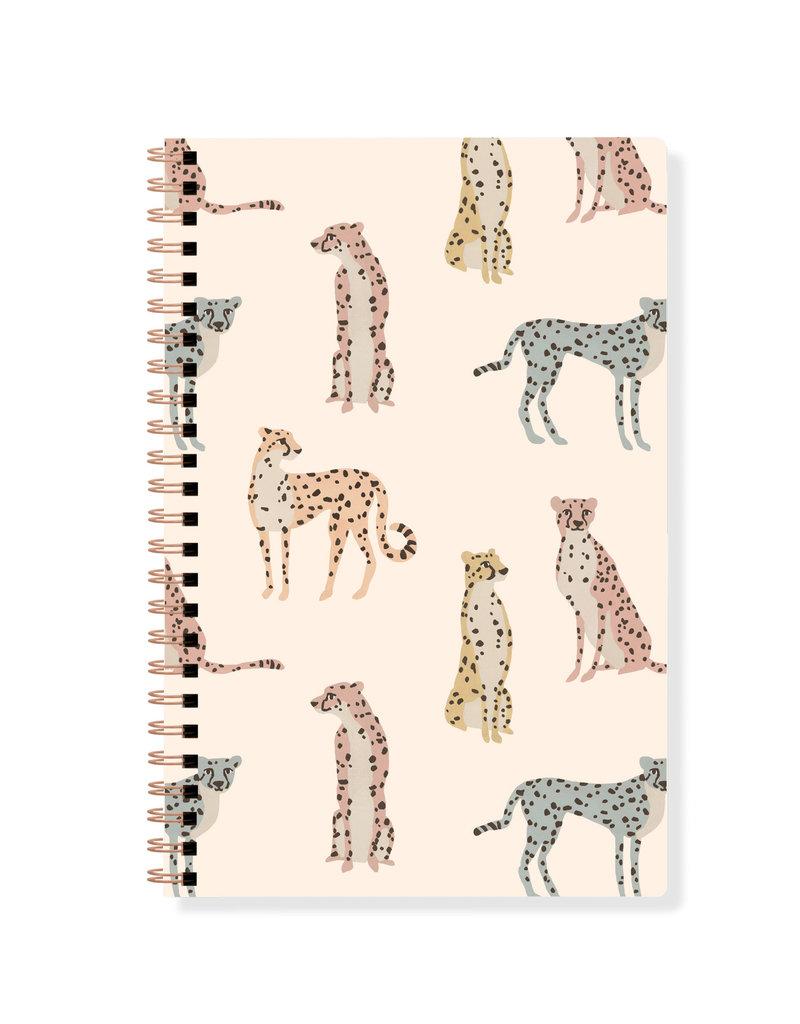Fringe Journal Spiral Bound Cheetahs Lined