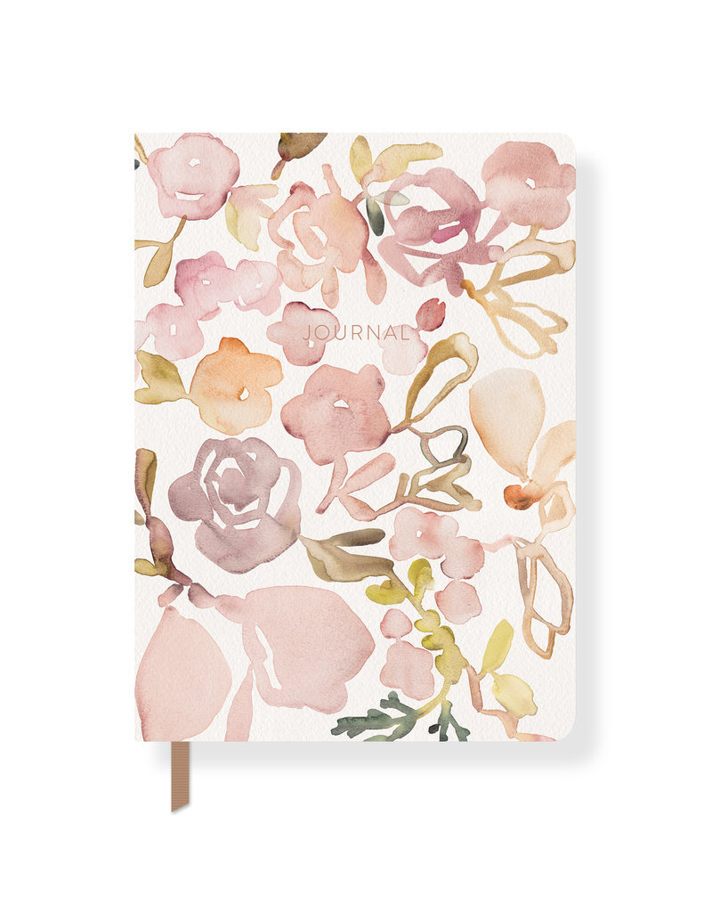 Fringe Journal Paperback Water Study Floral Lined