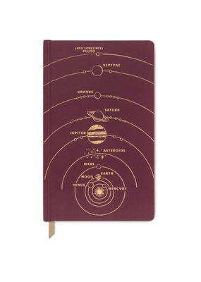 Designworks Ink Journal Solar System Lined