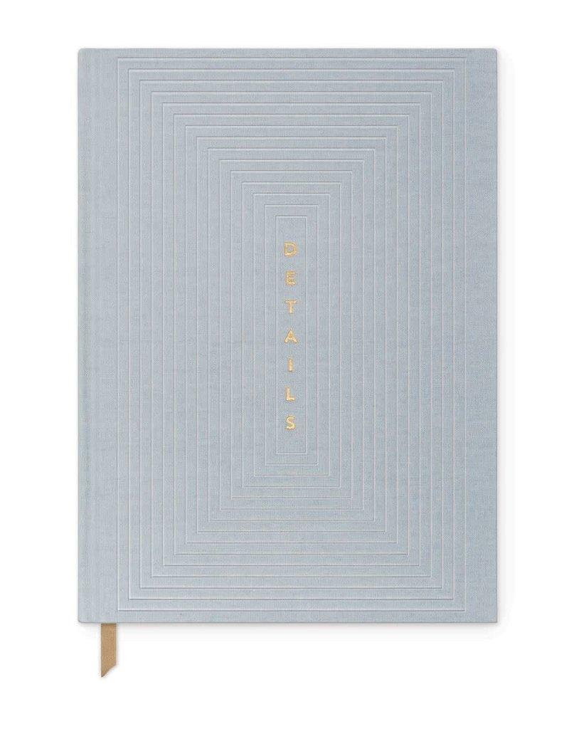 Designworks Ink Journal Details Dusty Blue Lined
