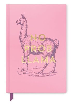Designworks Ink Journal Vintage Sass Hard Cover No Prob Llama Lined