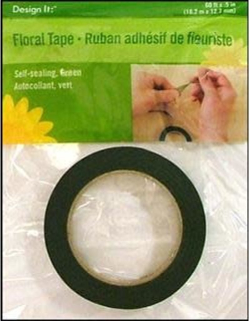 Floracraft Floral Tape .5 Inch Green