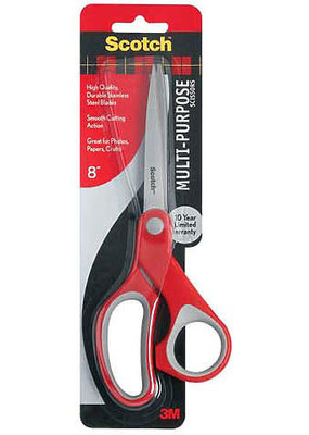 3M Scissor Multi Purpose 8 Inch
