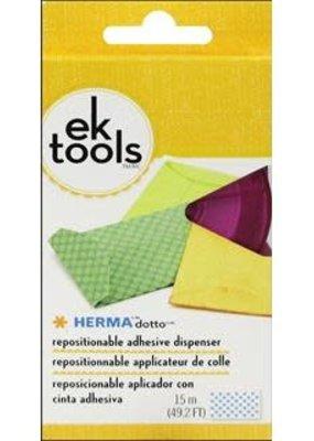 ek tools EK Herma Dotto Dispenser Repositionable Pink