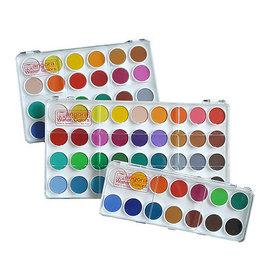 Angora Watercolor Pan Set Angora 24 Color