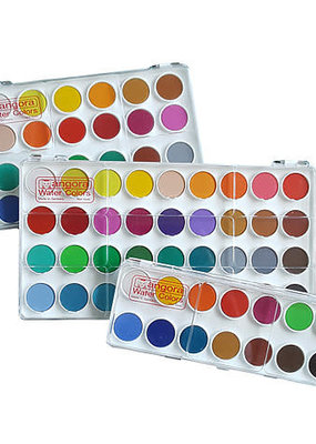 Angora Watercolor Pan Set Angora 24 Color