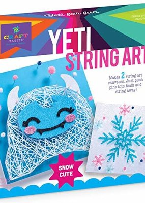 Ann Williams Craft-tastic String Art Yeti