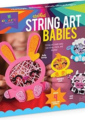 Ann Williams Craft-tastic Stacked String Art Farm Babies