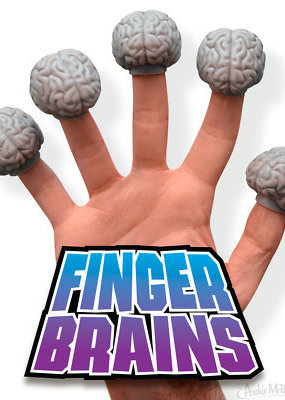 Archie McPhee Brain Finger Puppets