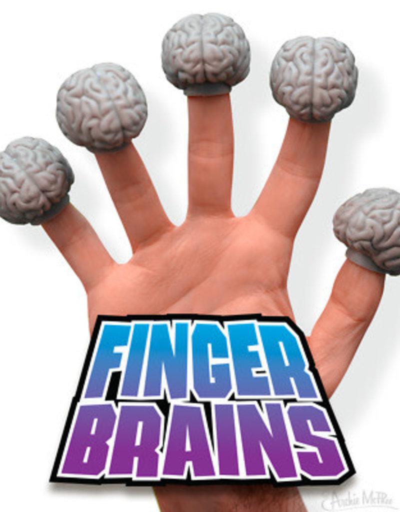 Archie McPhee Brain Finger Puppets