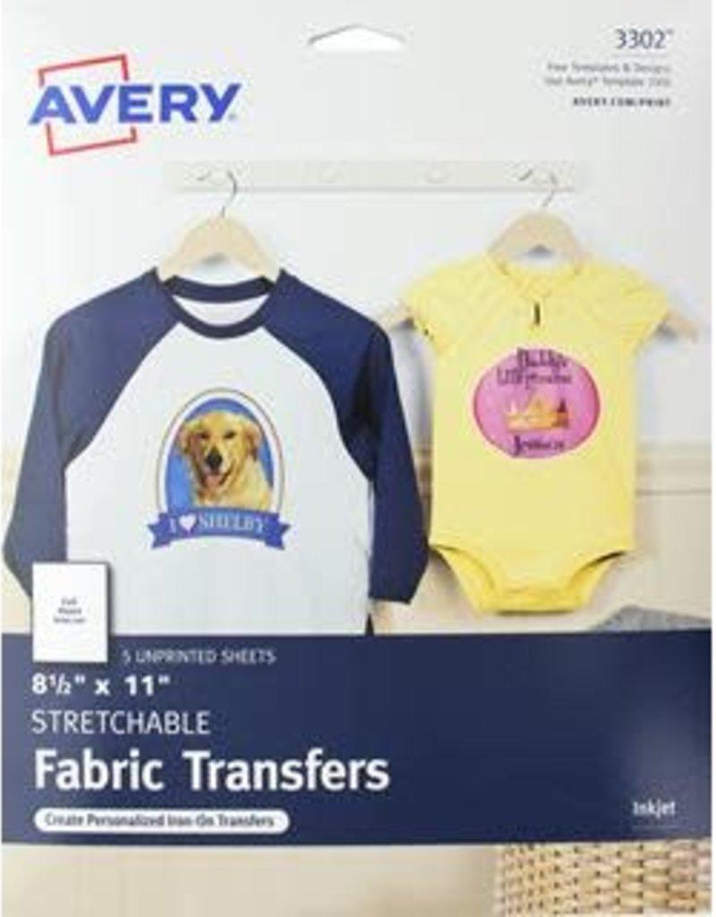 Avery Avery Fabric Transfers