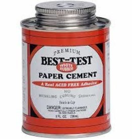 Best-Test Best-Test One-Coat Rubber Cement 8 Ounce
