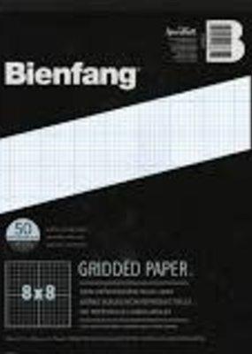 Bienfang Graph Paper Pad 8 X 8  Grid  8.5 X 11 50 Sheets