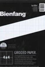 Bienfang Graph Paper Pad 4 X 4 Grid 8.5 X 11 50 sheets
