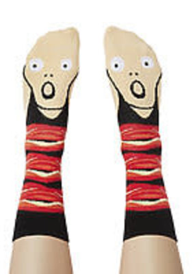 Chatty Feet Character Socks Screamy Ed