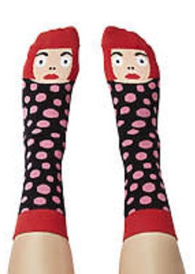 Chatty Feet Character Socks Yayoi Toesama