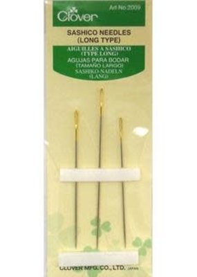 Clover Clover Hand Needle Sashico Long Assorted 3 Piece