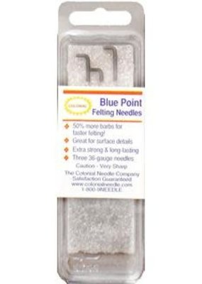 Colonial Colonial Needle Felting Needles Blue Point 3pc