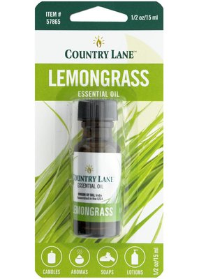 Country Lane Essential Oil .5 oz Lemongrass