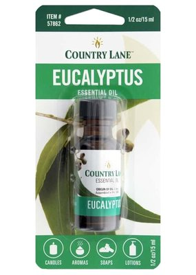 Country Lane Essential Oil .5 oz Eucalyptus