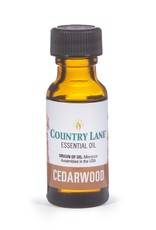 Country Lane Essential Oil .5 oz Cedarwood