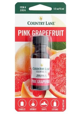 Country Lane Essential Oil .5 oz Pink Grapefruit