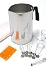 Country Lane Candle Making Kit Pouring Pot Votive