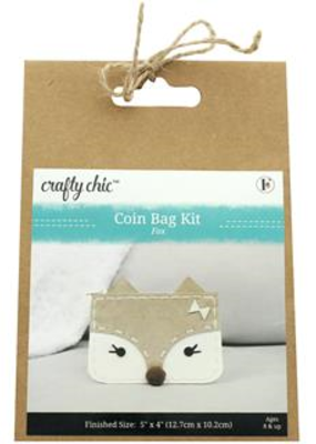 Crafty Chic Kit All Eyes On You Coin Bag Fox