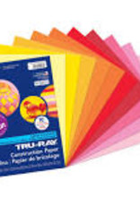 Pacon Construction Paper Pack Warm Assorted Colors