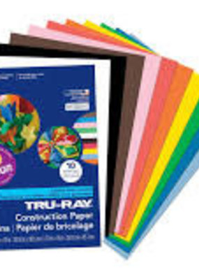Pacon Construction Paper Truray 9 X 12 Assorted Colors 50 Sheets