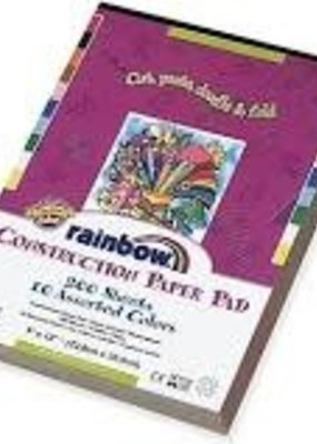 Pacon Construction Paper Rainbow 9 x 12 200 Sheet