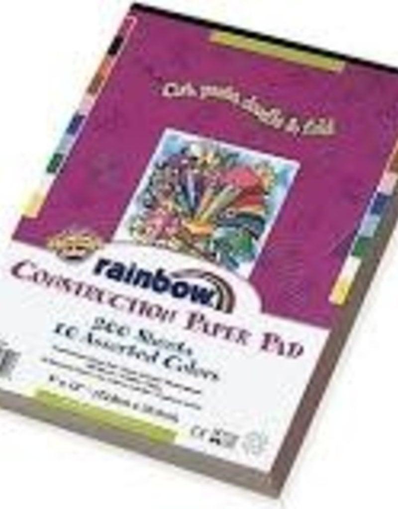 Pacon Construction Paper Rainbow 9 x 12 200 Sheet