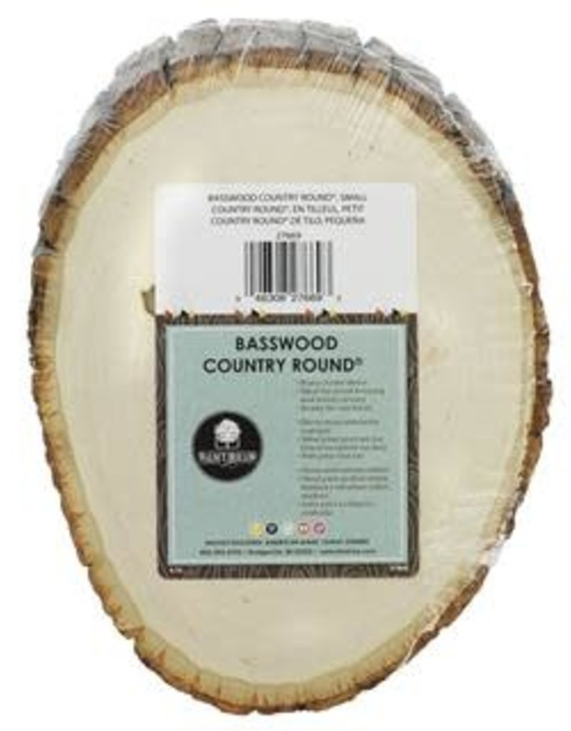 Walnut Hollow Walnut Hollow Basswood Country Rounds 5 - 7 Inch Small