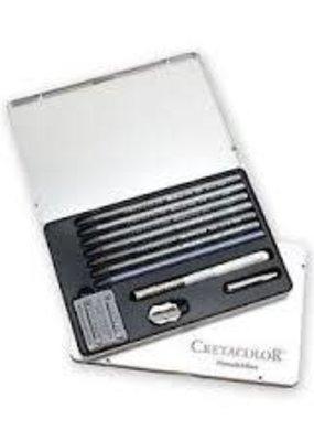 Cretacolor Monolith Graphite Tin Box 11
