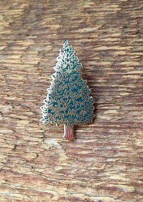 Noteworthy Enamel Pin Pine Tree