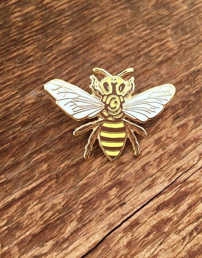 Noteworthy Enamel Pin Honey Bee