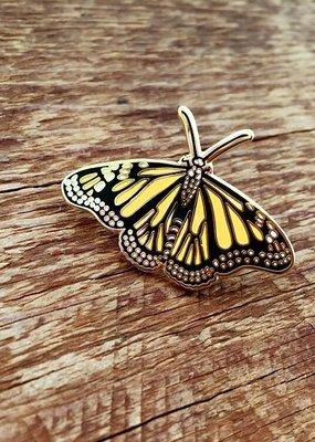 Noteworthy Enamel Pin Monarch