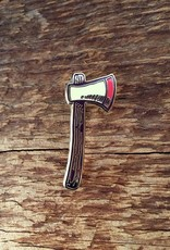 Noteworthy Enamel Pin Axe