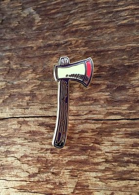 Noteworthy Enamel Pin Axe