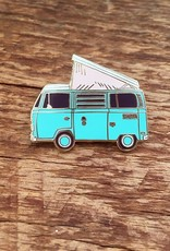Noteworthy Enamel Pin Camper Van