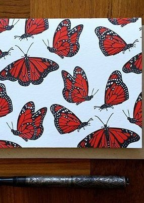 Noteworthy Card Blank Monarch
