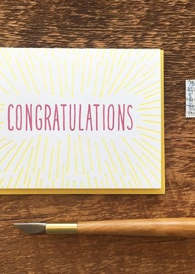Noteworthy Card Congrats Beams