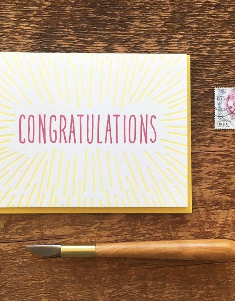 Noteworthy Card Congrats Beams